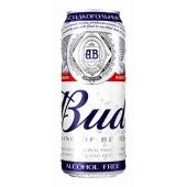 Пиво Бад (Bud) безалкогольное 0,5 л – ИМ «Обжора»