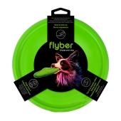 Летающая тарелка Флайбер, диаметр 22 см, зеленая – ИМ «Обжора»