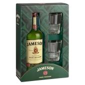 Виски Джеймсон (Jameson) 0.7л  c 2-мя бокалами сув. – ИМ «Обжора»