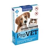 Ошейник ИнсектоСтоп для собак, против блох ,70 см – ИМ «Обжора»