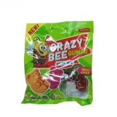 Конфеты Рошен (Roshen) Crazy Bee Gummi Bear Mix 100 г – ИМ «Обжора»