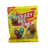 Конфеты Рошен (Roshen) Crazy Bee Gummi Soda Pop 100 г – ИМ «Обжора»