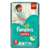 Подгузники трусики Памперс (Pampers) Junior 12-18кг Джамбо 48 – ИМ «Обжора»