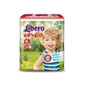 Трусики детские Либеро (Libero) Up&Go 6 XL(13-20 кг.) 20 шт. – ИМ «Обжора»