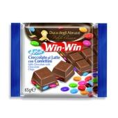 Шоколад Вин-Вин (Win-Win) с цветным драже 65 г – ИМ «Обжора»