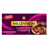 Шоколад Миллениум (Millennium) черный вишня, 100 г – ИМ «Обжора»