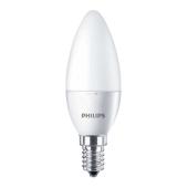 Лампа Филипс (Philips) CorePro candle ND 5.5-40W E14 840 B35 FR светодиодная свеча – ИМ «Обжора»