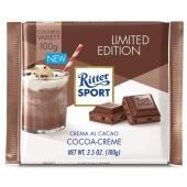 Шоколад Риттер спорт (Ritter Sport) какао крем 100 г – ИМ «Обжора»