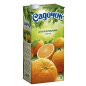 Нектар Садочок апельсин 1,93 л. – ИМ «Обжора»