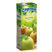 Нектар Садочок яблоко 1.5 л – ИМ «Обжора»