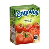 Сок Садочок томат с солью 0,2 л – ИМ «Обжора»