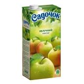 Нектар Садочок яблочный 1 л. – ИМ «Обжора»