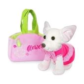 Игрушка Собачка Чихуахуа белый в сумочке СО-0103 – ИМ «Обжора»
