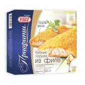 Рыбные порции из филе в панировке Вичи (Vici) 200 г – ИМ «Обжора»
