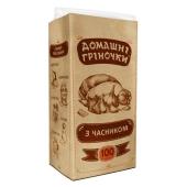 Сухарики гренки Домашние греночки чеснок 100г – ИМ «Обжора»