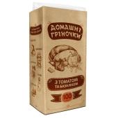 Сухарики гренки Домашние греночки томат базилик 100г – ИМ «Обжора»