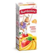 Сік Bambolina 200мл яблуко-банан нектар т/п – ІМ «Обжора»