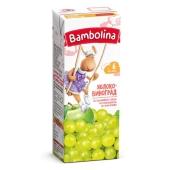 Сік Bambolina 200мл яблуко-білий виноград т/п – ІМ «Обжора»