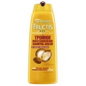Шампунь-масло Гарниер (Garnier) Fructis Тройное Востановление для очень сухих и  поврежденных  волос, 250 мл – ИМ «Обжора»