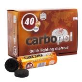 Уголь быстровозгораемый Карбопол (Carbopol) 40мм Пач10 – ИМ «Обжора»