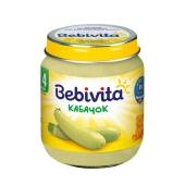 Пюре Бебивита (Bebivita) Кабачок 125г – ИМ «Обжора»