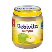 Пюре Бебивита (Bebivita)  яблоко 125 г – ИМ «Обжора»