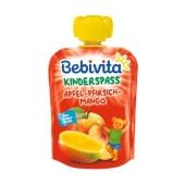 Пюре Бебивита (Bebivita) яблоко-банан-персик 90г – ИМ «Обжора»