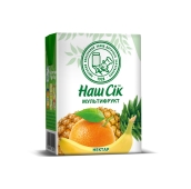 Мультифруктовый нектар Наш сок  0,2 л – ИМ «Обжора»