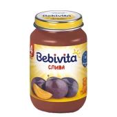 Пюре Бебивита (Bebivita) слива 125 г – ИМ «Обжора»