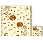 Салфетки  Люкси (Luxy) Кофе 33х33 3 сл. 20 шт – ИМ «Обжора»