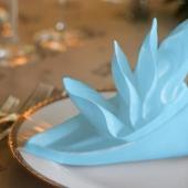 Салфетки  Люкси (Luxy) Голубая 33х33 3 сл. 20 шт – ИМ «Обжора»