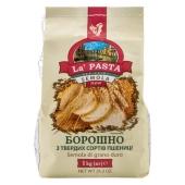 Мука Ла Паста (La Pasta) из твердых сортов пшеницы 1кг – ИМ «Обжора»