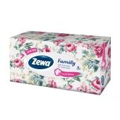 Серветки ZEWA Family Soft&Strong 3 кулі для обличчя 90 шт – ІМ «Обжора»