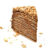 Торт Наполеон Шоколадный – ИМ «Обжора»