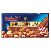 Шоколад Миллениум (Millennium) Голд молочный орех, 100 г – ІМ «Обжора»
