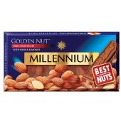 Шоколад Миллениум (Millennium) молочный с миндалём, 100 г – ИМ «Обжора»