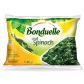 Зам. Овощи Бондюэль (Bonduelle) Листья шпината 400г – ИМ «Обжора»