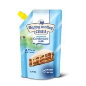 Сгущеное молоко Волошкове поле Happy Motley Cows 0,2кг 8,5% ГОСТ – ИМ «Обжора»