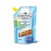 Сгущеное молоко Волошкове поле Happy Motley Cows 1кг 8,5% ГОСТ – ИМ «Обжора»