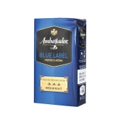 Кофе Амбассадор (Ambassador) Blue Label 250 г молотый – ИМ «Обжора»
