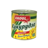 "Кукуруза ""Эко Ол"" консервированная, 420 г – ІМ «Обжора»"