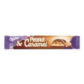 Шоколад Милка (Milka) молочный арахис-карамель, 37 г – ИМ «Обжора»