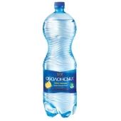 Вода Оболонська 2,0л лимон – ІМ «Обжора»