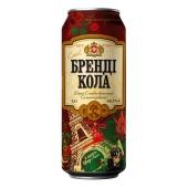 Напиток Оболонь бренди-кола 8% жестяная банка 0.5 л. – ИМ «Обжора»