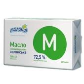 Масло Молокия  Селянское 72,5% 200 г ( фольга) – ІМ «Обжора»