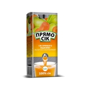 Сок Прямо сок 0,21 л. яблочно-морковный – ИМ «Обжора»