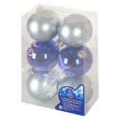 Елочные шарики 6см 6шт 8503 – ИМ «Обжора»