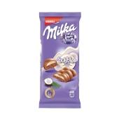 """Шоколад Милка (Milka) """"Бабл"""", молочный кокос, 80 г – ИМ «Обжора»"""
