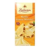 Шоколад Белларом (Bellarom) белый миндаль 200г – ИМ «Обжора»