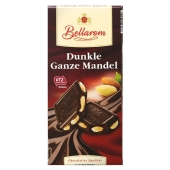 Шоколад Белларом (Bellarom) черный миндаль 200г – ИМ «Обжора»